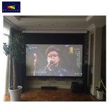 4K de lusje-Spanning van UHD het Intelligente Elektrische Scherm van de Projector van de Duim van de Projectie Screens/135 voor de Bioskoop van het Huis