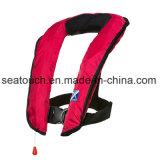 カスタマイズ可能な150n 33G膨脹可能なSolasの承認の反射鏡との子供のpool湖の楽しみの水泳のための自動救命胴衣のベスト