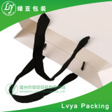 Venta caliente bolsa de papel kraft blanco impreso con asa