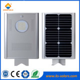 precio solar integrado de la luz de calle de 12W LED con la aprobación de RoHS del Ce