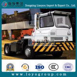 Sinotruk Hova 4X2 Terminal de baja velocidad camión tractor para la venta