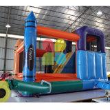 아이를 위한 /Inflatable 결합 쾌활한 성곽을 뛰어오르는 팽창식 크레용