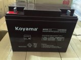 Koyama alimentation 12V50AH AGA à cycle profond batterie pour onduleur, système de sécurité