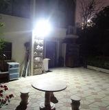 10W 운동 측정기 태양 투광램프 옥외 방수 스포트라이트 잔디밭 조경 플러드 빛 비상등