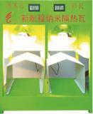 Tuile de toit d'isolation thermique et matériau galvanisés gris de Mur-Garniture