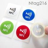Pequeña RFID NFC escritura de la etiqueta/etiqueta engomada de ISO14443A para la etiqueta del teléfono de NFC