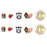 Botão Pin personalizado Badge /Roupas/Pin de lapela de latão Pino