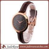 Cadran rond coloré de haute qualité Lady les montres à quartz