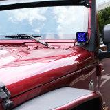 RGB LED de control remoto de las vainas de irradiar luz antiniebla spot LED luces de conducción off road atmósfera Iluminación posterior Impermeable IP68 SUV Jeep ATV de la luz de trabajo