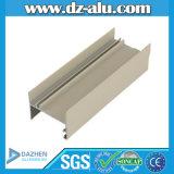 Profil en aluminium d'extrusion pour la couleur blanche beige du marché du Nigéria