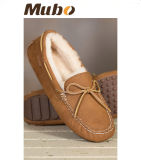 Schapenvacht Vrouwen Casual Moccasin Loafer Shoes