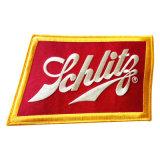 O emblema feito sob encomenda do bordado do tamanho do Lager da qualidade de Hight, e a tela feita sob encomenda da correção de programa do bordado remendam a correção de programa dos vestuários (Yb-Hr-402)