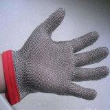 De Werkende Handschoen van het Roestvrij staal van Resisant van de Besnoeiing van de veiligheid