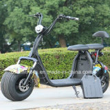 """O veículo elétrico da bicicleta da motocicleta do """"trotinette"""" com 2 unidades remove a bateria"""