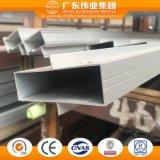 Aluminium/Aluminio/profil en aluminium d'extrusion pour le guichet et la section de porte