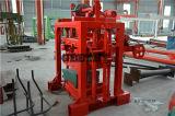 コンクリートブロック機械Qtj4-40手動空の固体ブロック機械