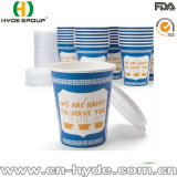Бумажный стаканчик кофеего таможни 12oz горячий с крышками (12 oz-13)