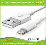 teléfono móvil de la velocidad estupenda 2A que carga el cable del USB para el iPhone
