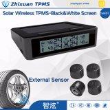 Sensores solares do External do sistema TPMS do monitor da pressão de pneu da tela desobstruída