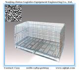 鉄の金網の容器の金属のケージ