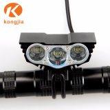 Ultra helles nachladbares LED-Fahrrad-Licht-Aluminiumset