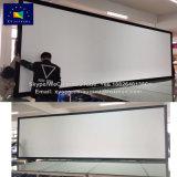 Пользовательские размеры 300-дюймовый экран с фиксируемой рамой