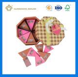 Rectángulo del conjunto del regalo del chocolate con colores completos