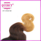 7A 급료 100% 인간 Omber 색깔 바디 파 러시아 머리 연장
