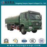Le réservoir d'eau de 20000 litres de Sinotruk HOWO 6X4 arrosent le camion