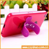 Supporto caldo del telefono del silicone di 2018 vendite con il marchio su ordinazione