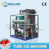 Tube de 10 tonnes Koller Machine à glace pour les projets de construction (TV100)