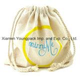 Luxe flanelle de coton imprimé personnalisé promotionnel Shoe sac à poussière