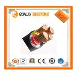 Resistenza al fuoco e fumo basso zero cavi elettrici dell'isolamento del fodero XLPE del PVC del cavo dell'alogeno