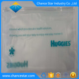 Mate de impresión personalizada bolsa con cierre de cremallera impermeable de PVC