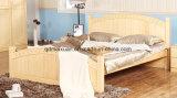 Camas matrimoniales modernas de la base de madera sólida (M-X2291)
