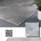 Graue Farbe glasig-glänzende Marmorpolierporzellan-Fußboden-Fliese (VRP6H041)