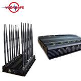 42W 16 de Lage Band 130-500MHz van Antennes Al Stoorzender van Banden tot 50m
