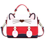 Joli sac à main de l'épaule Cat Princess occasionnel