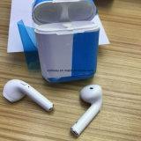 Het in het groot Beste van de Oortelefoons van de Sport van de Hoofdtelefoon van Tws van de Fabriek van China I8 I8X Draadloze verkoopt Ware Draadloze Earbuds met het Laden van Geval
