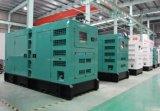 375kVA/300kw 상해 디젤 엔진 침묵하는 유형 디젤 엔진 발전기 세트 Shangchai