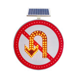 Creatore solare di alluminio riflettente certificato ISO/Ce della segnaletica di sicurezza di traffico stradale del LED/indicatore luminoso d'avvertimento infiammante di traffico