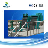 Lamas do separador do Transportador da máquina para o tratamento de águas residuais