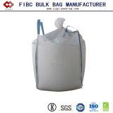 1 BulkZak van de Zak FIBC van de Ton van de Zak van de ton pp de Jumbo Grote voor Bloem, Zand, Bouwmateriaal, Cement, Chemisch product, Huisvuil