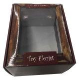 Гофрированный картон Flower упаковке с прозрачное окно