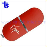 Настраиваемые пластика ABS овальные прозрачные пластиковые привод USB флэш-памяти