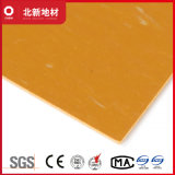 明るく黄色いVctの床タイル2mm NMV42