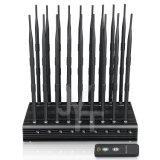 Mondo prime 18 antenne in pieno tutte in un'emittente di disturbo Blockingcellphone GPS WiFi 5.2g 5.8g del segnale del telefono delle cellule con telecomando