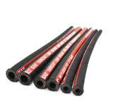 1sn sn 2R1 R2 uno y dos el cable trenzado de mangueras hidráulicas de goma
