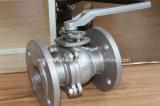 División Ss cuerpo 150lb / 300lb de válvula de bola de brida de la API