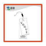 Papel especial de la etiqueta ropa de la cuerda de desgaste